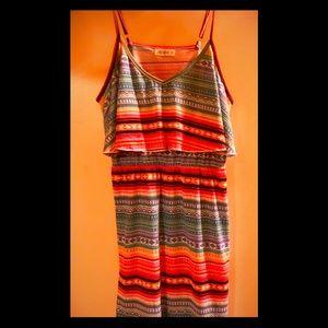 Mini Dress Aztec Design